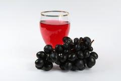 Wine och druvor Arkivbilder
