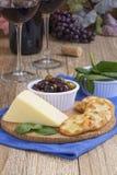 Wine och ost Royaltyfri Bild