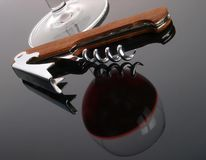 Wine opener Stock Photography