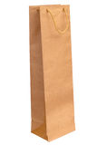 Wine Paper Bag Royalty Free Stock Photos