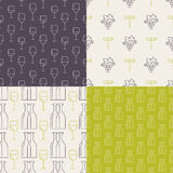 Wine Pattern Stock Photos