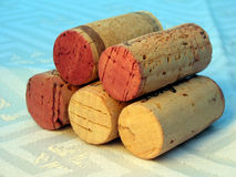 Wine Photo 7. A collection of wine corks royalty free stock photography