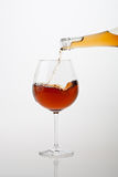 Wine Pour Stock Images