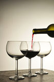Wine Pour Royalty Free Stock Images