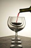 Wine Pour Stock Photos