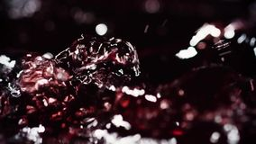 Wine Pour_004. Wine Pour red liquid slowmotion stock video footage