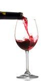 Wine pouring Stock Photos