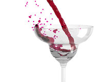 Wine pouring Royalty Free Stock Image