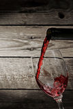 Wine pouring Royalty Free Stock Photography