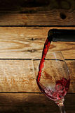 Wine pouring Royalty Free Stock Photo