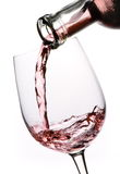 Wine Pouring (Rose) Stock Images
