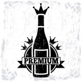 Wine premium Royalty Free Stock Photos