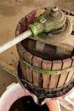 Wine press Stock Photography
