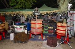 Wine press Royalty Free Stock Photos