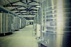 Wine production Royalty Free Stock Photos