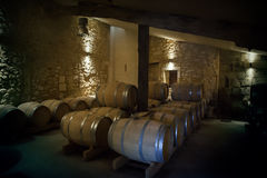Wine production Stock Photography