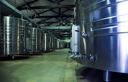 Wine production Royalty Free Stock Photo