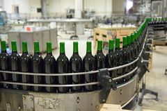 Wine production line