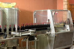 Wine production Stock Images