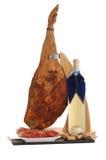 Wine and prosciutto Stock Photo