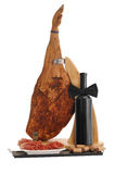 Wine and prosciutto Royalty Free Stock Image