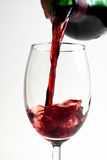 Wine puring Royalty Free Stock Photo