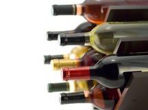 Wine rack royalty free stock photography