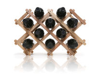 Wine Rack Stock Photography
