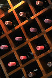 Wine Rack Royalty Free Stock Photo