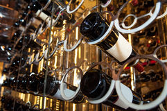 Wine racks Stock Images