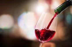 Wine. Red beaujolais bordeaux glass alcohol autumn taste stock photography