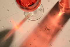 Wine Reflections Stock Photos