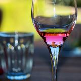 Reflections on Wine Royalty Free Stock Photos