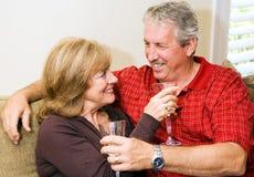 Wine and Romance Royalty Free Stock Photos