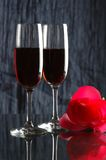 Wine and Roses Stock Photos