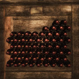 Wine rows Royalty Free Stock Image