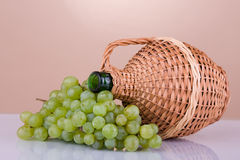 Wine's jar 3. Royalty Free Stock Image