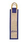 Wine sack bag isolated Royalty Free Stock Image