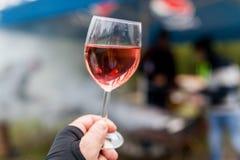 Wine sampler Stock Images