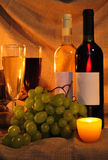 Wine scene Royalty Free Stock Image