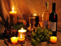Wine scene Royalty Free Stock Photos