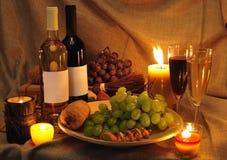 Wine scene Royalty Free Stock Photo