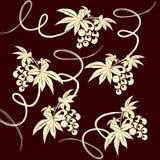 Wine seamless wallpaper Royalty Free Stock Photo