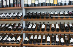 Wine Selection Stock Photography