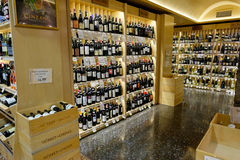Wine Selection at Market of Choice Royalty Free Stock Photography