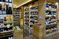 Wine Selection at Market of Choice Stock Photography