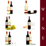 Wine set Stock Image