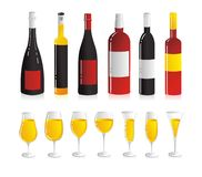 Wine set Stock Photography