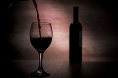 Wine in a shade Royalty Free Stock Photos