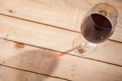 Wine and shadow Stock Photography